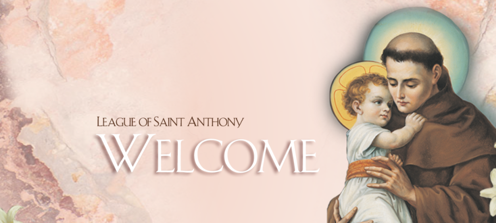 League of Saint Anthony Welcome