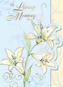 In Loving Memory (ML) - front of card