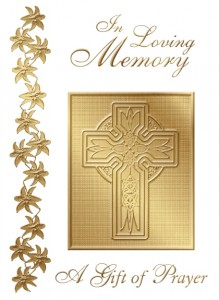 In Loving Memory (MT) - front of card - League of Saint Anthony Memorial Mass Card