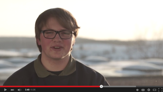 Video screenshot - Student